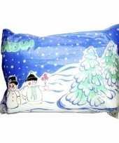 Kerstdorp ondergrond sneeuwdeken 250 x 100 cm 10137788